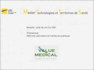 Intervention Value Medical à l'UTC de Compiègne